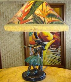 Pua Nui hula dancer cast in bronze by Charles Moore Hulalamps of Hawaii Decor, Adventure Decor, Lamp, Girls Lamp, Hawaiian Decor, Tropical Plants, Tropical Decor, Island Style Decor, Island Decor