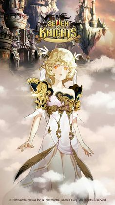 Yeonhee Female Character Design, Game Character, Character Concept, Concept Art, Seven Knight, Knight Art, Art Icon, Anime People, Female Anime