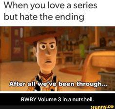 RWBY Volume 3 in a nutshell.