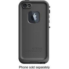 LifeProof - Case for Apple® iPhone® 5 - Black