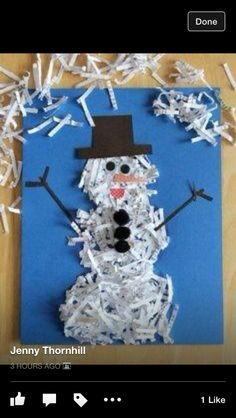 Lovely snowman craft x