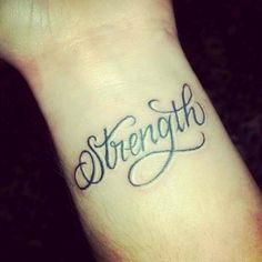 Strength! Love this