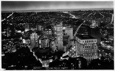 Sao Paulo at Night, circa 1950