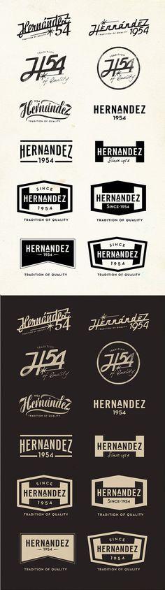 Hernandez54 Motorcycles co on Branding Served