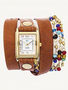 A unique gift idea!  Wrap watches from La Mer