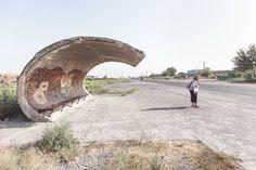 The Crazy-Daring, Concrete Bus Stops of the Soviet Era — Vantage — Medium