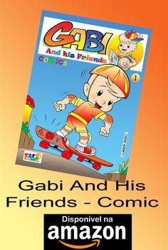 Turma do Gabi 01 - Inglês Comic - Autor: Moacir Torres