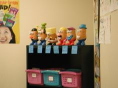 """In my 6th grade reading classroom, I use potato heads as a behavior incentive. When the entire class works together and remains on task, they earn pieces for their potato head. Each finished potato gets it's picture in our """"spud gallery."""" The class period with the most spuds in the gallery at the end of each quarter gets a pizza lunch. WORKS WONDERS!"""