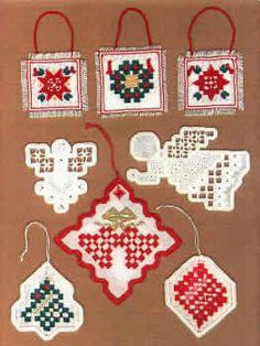 Christmas Creations (ornaments - Hardanger) by Hardanger House - Betty Stokoe
