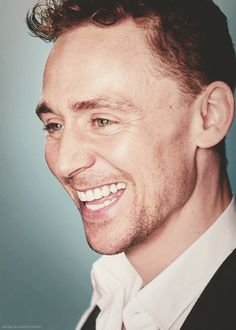 Tom Hiddleston. That talent. That smile!