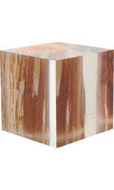 Bleu Nature Nilleq Driftwood Cube