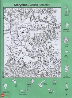 Hidden Picture Games, Hidden Picture Puzzles, Hidden Games, Puzzles For Kids, Worksheets For Kids, Hidden Pictures Printables, Highlights Hidden Pictures, Preschool Writing, Picture Boards