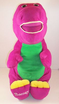 Barney The Dinosaur Face