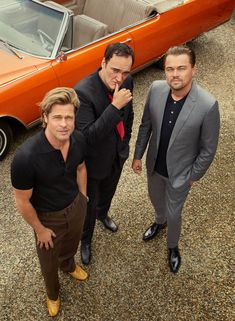 See All the Photos from Our 'Once Upon a Time...In Hollywood' Cover Story with Quentin, Brad, and Leo