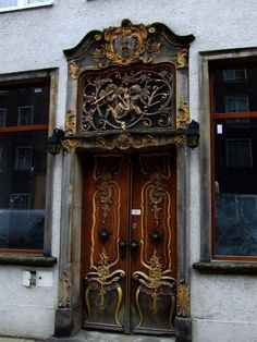 Old Town Gdansk - Poland That's right. I want to go here to see a specific door. Doors are so meaningful aren't they? Open or closed, coming or going, locked or not, old or new, broken or working, strong and thick or weak and thin, they all have so much character and can say so much. I want to see this door.