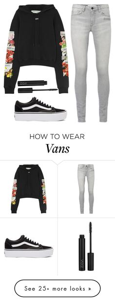 """Untitled #1"" by natashabdullah on Polyvore featuring Off-White, Vans and ZOEVA"