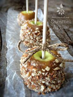 (FREE) Caramel Apples (raw, vegan, gluten-free)