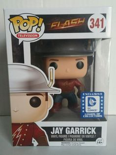 DC LEGION OF COLLECTORS Exclusive Funko POP Television THE FLASH JAY GARRICK 341