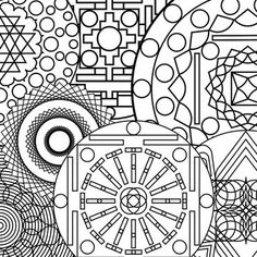 adult printable art coloring pages mandala coloring pages 2 - Fun Pictures To Color