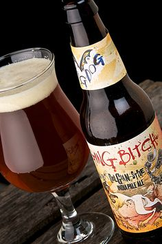 Flying Dog Raging Bitch IPA 8.3% Belgian Style with a Nectar Taste RS 6 Brian Elmore Recommended.