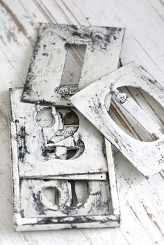 metal number stencils