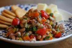 Marinated Black-Eye Pea Salad