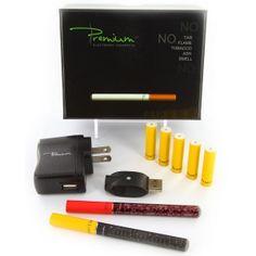 premium electronic cigarette starter kit