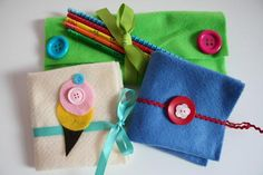 DIY Pouch : DIY Felt Art Pouches