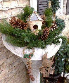 winter decorations outside on pinterest winter porch