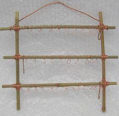 Bamboo Jewelry Display