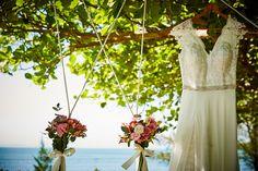Lindo momento e sonho da noiva.....Hotel Porto Sol Beach - Decoração Luzia Melo Produções - Fotografia Mário Oliveira