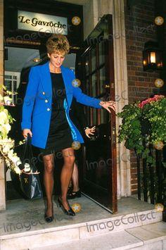 Princess Diana LA Gavroche Rest London 10-03-1994 Photo by Dave Chancellor/alpha/Globe Photos,inc.