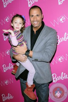 Nigel Barker and daughter Jasmine
