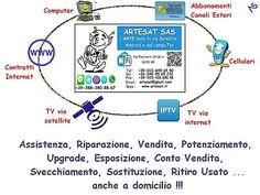#Assistenza #Consulenza #Riparazione #Vendita #Potenziamento #Upgrade #Esposizione #ContoVendita #Svecchiamento #Sostituzione #PuliziaVirus #RitiroUsato di tutto cio' che riguarda la #TvViaSatellite #IPTVviaInternet #Smartphone #AbbonamentoCanaliEsteri #Computer e #ContrattiInternet !!! DOVE ??? Ma da #ARTESAT !!!! www.artesat.it #as96 #aspc #stgoasbl #staswpbl  #stdwasfbpg #stdwfbac #sttcanot #stasappi #sttegfbac #sttggsp