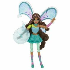 """Winx 3.75"""" Action Dolls Believix Premiere - Aisha by Winx. $25.08. Winx Belevix dolls have 9 points of articulation. Use energy accessories to battle evil. Includes Believix removable wings that can be used on all 3.75"""" Winx Club dolls. Possability allows more playability. The only empowering action dolls for girls. Available in all 6 characters: Bloom, Stella, Flora, Tecna, Aisha, Musa. From the Manufacturer                Girls will feel empowered with these beautiful hig..."""