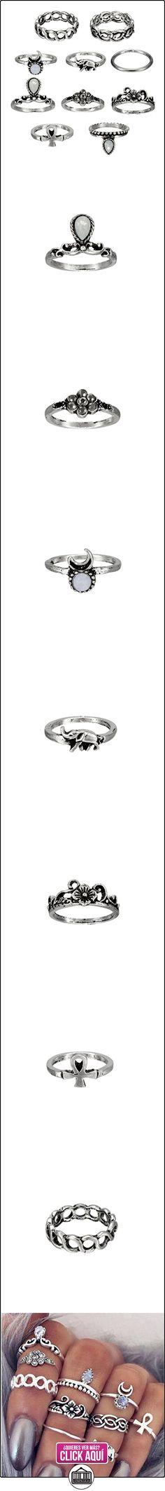 10pezzi Vintage Knuckle Ring Anillo Tribal Ethnic Hippie Joint Punk Ring Anillo Juego para mujer  ✿ Joyas para mujer - Las mejores ofertas ✿ ▬► Ver oferta: https://comprar.io/goto/0285326422