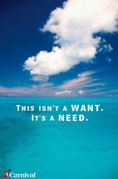 It's a definite NEED.