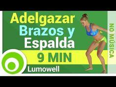 Adelgazar Brazos y Espalda - Eliminar Grasa de Brazos y Espalda - YouTube