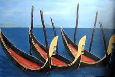 Acrylbild Venedig  Format 60 x 90 cm