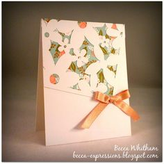 Card using CTMH Artbooking Cricut cartridge and Hello Lovely paper. #ctmh #artbooking
