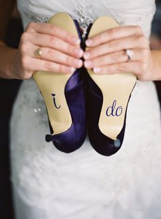 I think I'll totally do that to whatever heels I wear for my wedding... whenever that is...