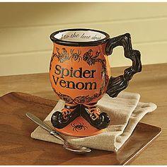 Spider Venom Halloween mug at Seventh Ave for $13