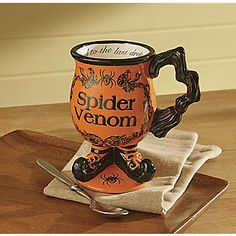 Spider Venom Halloween mug at Seventh Ave for $13