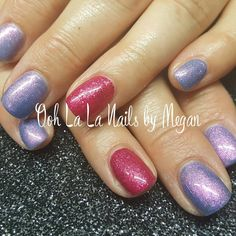 Love these 2 colors together! #oohlalanailsbymegan