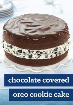 Chocolate-Covered OREO Cookie Cake – Be warned: According to readers, if you serve this delectable treat as a birthday cake, you'll be starting a tradition. One that's going to be tough to break.