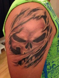 the punisher tattoo
