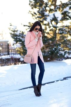 light colors for winter