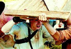 Thomas Sangster as Newt