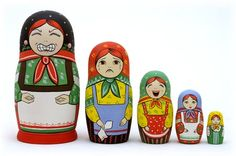 Stress Reliever Nesting Doll... thought this was cute :)