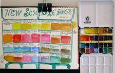 watercolour template blog - Recherche Google